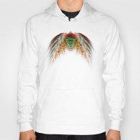 angel wings Hoodies featuring Wings  by jbjart