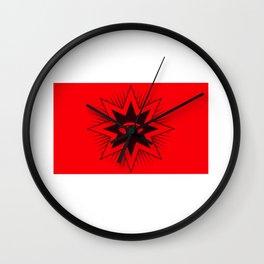 All Seing Eye Symbol Wall Clock