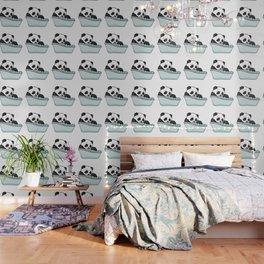 Bathtub panda Wallpaper