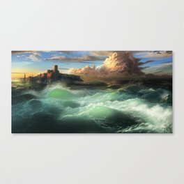 The Cemetery of the Chateau D'if Canvas Print