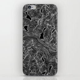 Inverted Enveloping Lines iPhone Skin