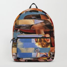 Glitch Pin-Up Redux: Zelda & Zoe Backpack