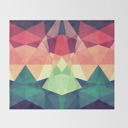 Looking at stars Throw Blanket