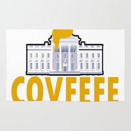 Covfefe Funny Meme President Rug