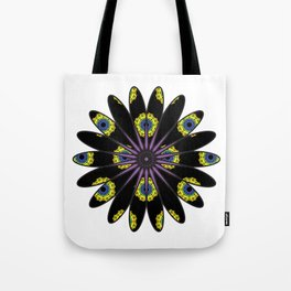 Stylized Flower Tote Bag