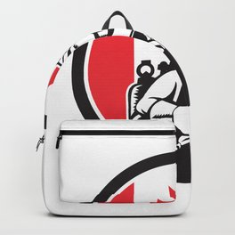 Canadian Welder Canada Flag Icon Backpack
