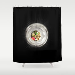 Guitarists' Light at the End of the Tunnel Shower Curtain