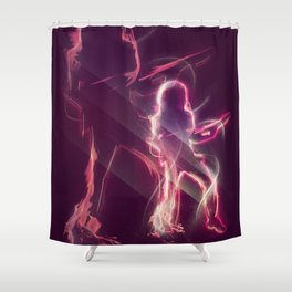 Rocker  Shower Curtain