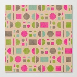 Geometric Shapes Canvas Print