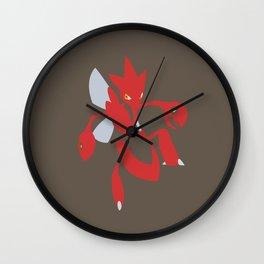 Scizor - lineless Wall Clock