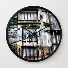 Bad Paint Job Wall Clock