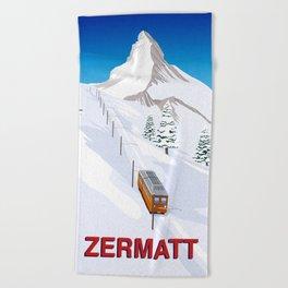 Zermatt Beach Towel
