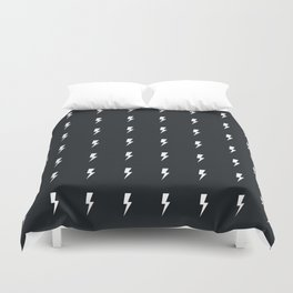 Lightning Thunderbolt Flash Duvet Cover