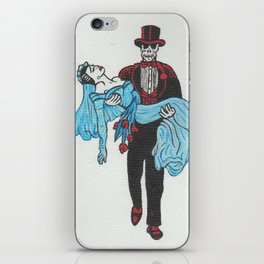 ZOMBIE HONEYMOON - 1950'S PRE-CODE HORROR iPhone Skin