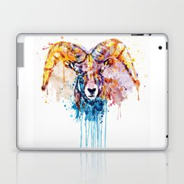 Bighorn Sheep Portrait Laptop & iPad Skin