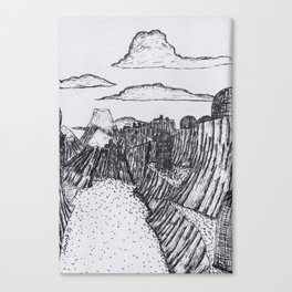 The Village of Iyk Canvas Print