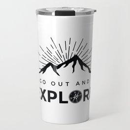 Go Explore Travel Mug
