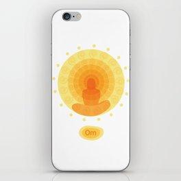 Shiny mandala iPhone Skin