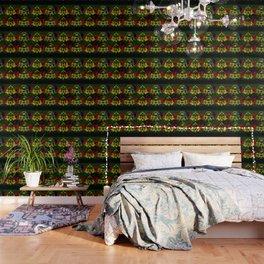 Amo y Besos Symmetrical Art Wallpaper
