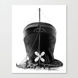 Ship William E. Corey Canvas Print
