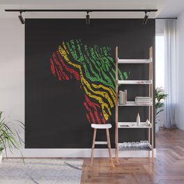 Reggae Africa Wall Mural