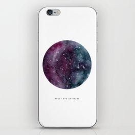 Trust the Universe iPhone Skin