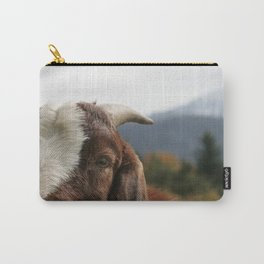 Look who's complaining, funny goat photo Carry-All Pouch