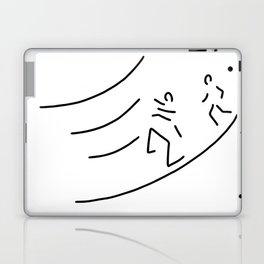 hurdle-race athletics metres run Laptop & iPad Skin