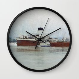Roger Blough and Ojibway Wall Clock