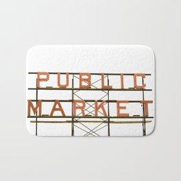 Pike Place Public Farmers Market - Sunrise Bath Mat