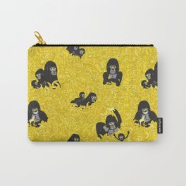 Gorillas and bananas by unPATO Carry-All Pouch