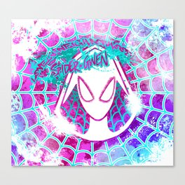 Lovely Neighborhood Spider-Gwen Canvas Print