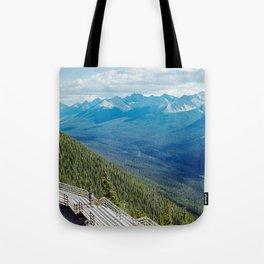 Canadian Rockies Tote Bag