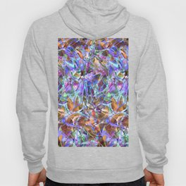 Floral Abstract Stained Glass G268 Hoody