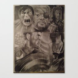 Avengers Canvas Print