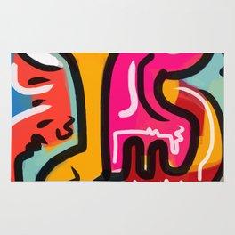 The Life Force Pop Art Graffiti Rug