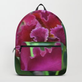 Tropical Flowers Orchids Backpack