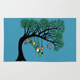 Buoy Tree by Seasons K Designs for Salty Raven Rug