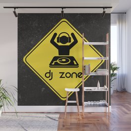 DJ Zone Rave Quote Wall Mural