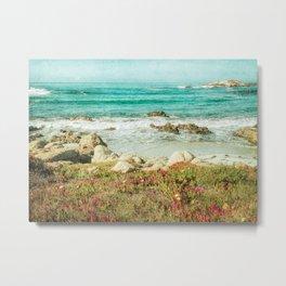 Scenic Photography, Beach, 17 Mile Drive, Monterey, Pebble Beach, Pacific Grove,  Metal Print
