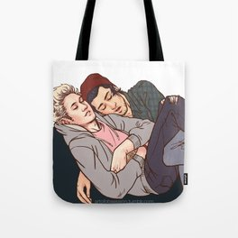 Couch Crashers- Ziall Tote Bag