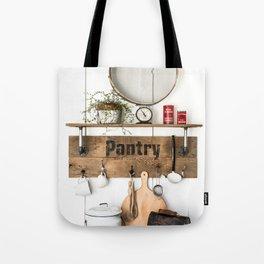 Pantry Shelf - tall Tote Bag
