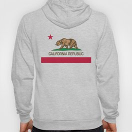 California flag, High Quality Authentic Hoody