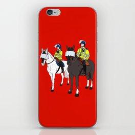 London Metropolitan Horse Cops iPhone Skin