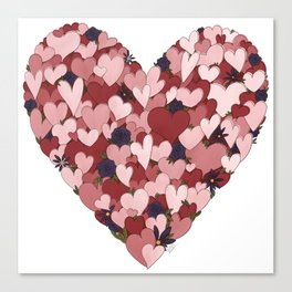 Heart of Hearts Canvas Print