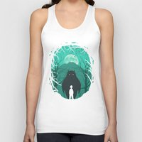 scary Tank Tops featuring Scary Monsters and Nice Sprites by filiskun