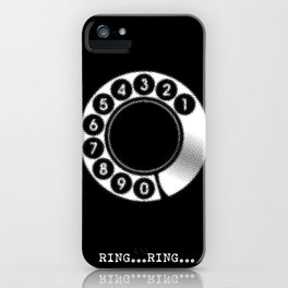 RING...RING... iPhone Case