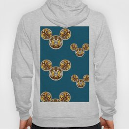 Cartoon animals in gold and silver gift decorations Hoody