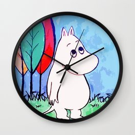 The walk of Moomin Wall Clock