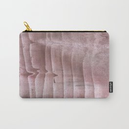 Rosy brown colorful watercolor Carry-All Pouch